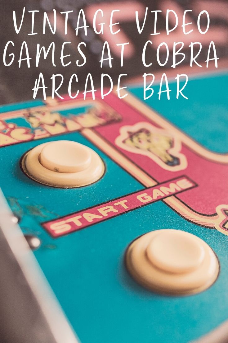 Instead of reminiscing about the good ol' days this holiday season, relive them! Unleash your inner child for a night of vintage video game fun at Cobra Arcade Bar.